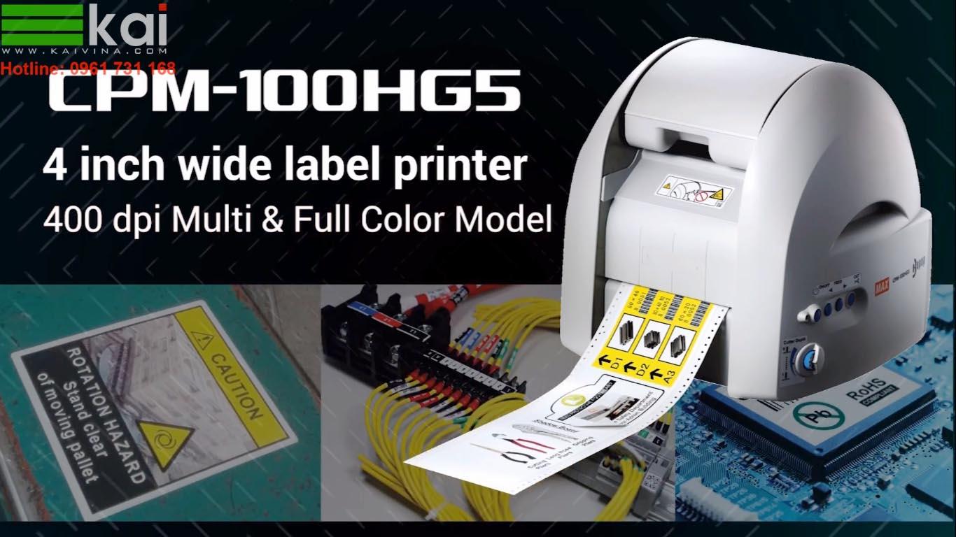 Máy in và cắt nhãn tự động được sử sụng như thế nào trong nhà máy sản xuất ?