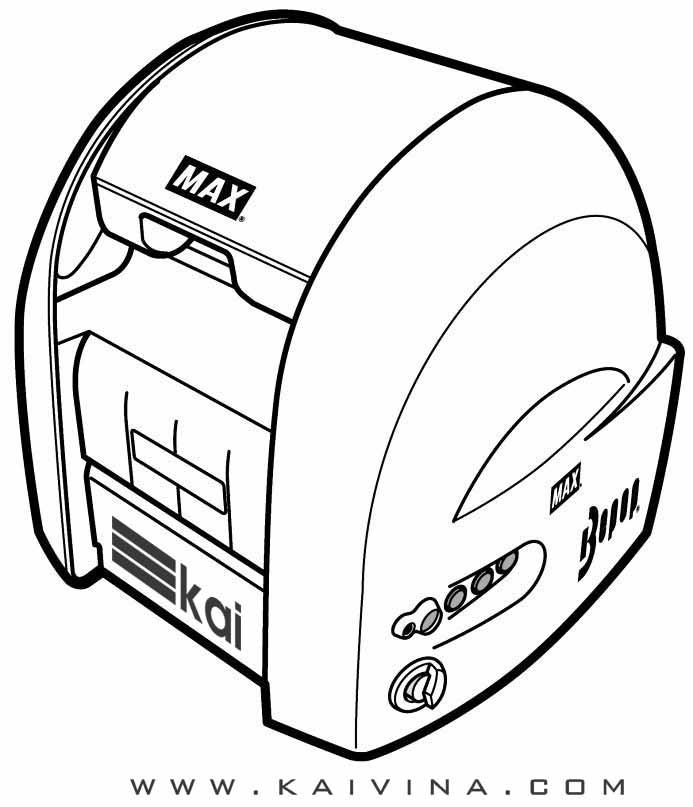 Hướng dẫn sử dụng máy in nhãn cpm 100. Max - Japan