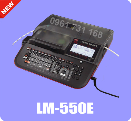 MÁY IN ĐẦU CỐT LM-550E