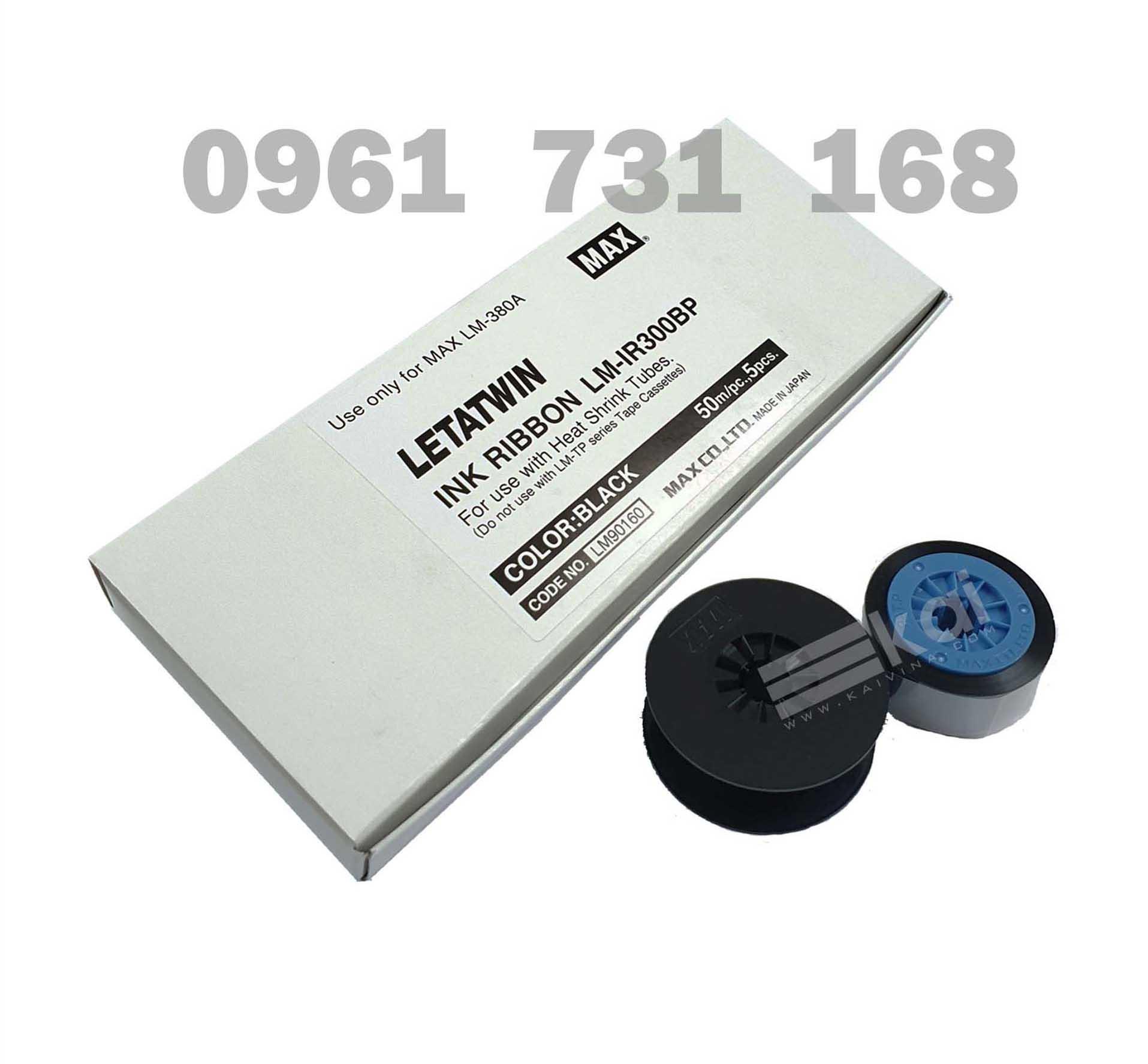 MỰC IN ỐNG CO NHIỆT LM-IR300BP, LM-IR50BP