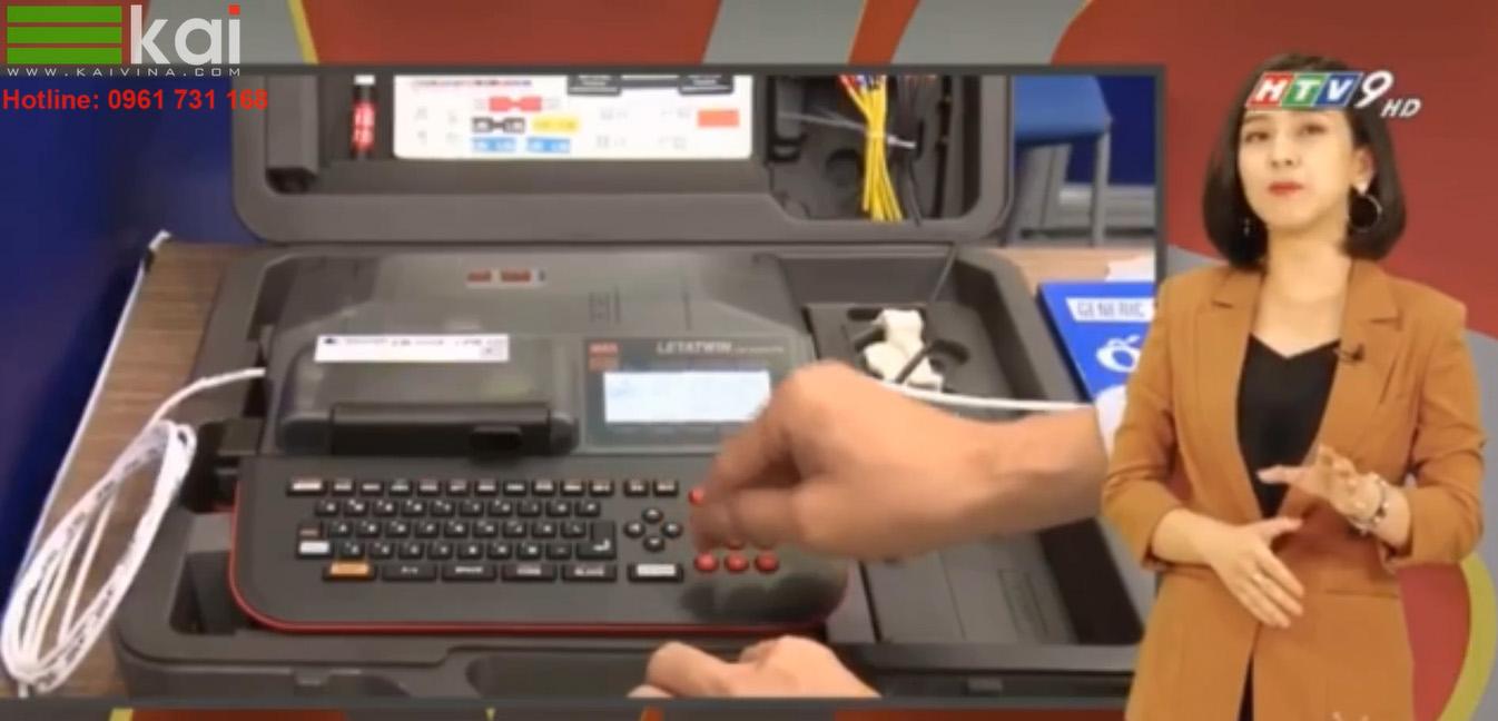 HTV9 giới thiệu máy in và cắt nhãn CPM-100HG5M MAX Japan